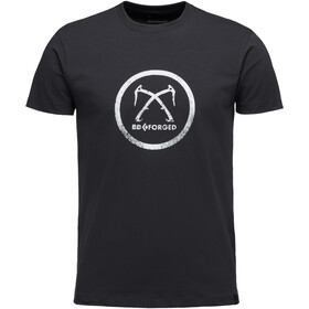 Black Diamond Forged T-shirt Homme, black